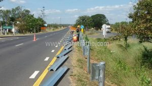 HDG highway guardrail Highway No.23 Huai Aeng - Roi Et