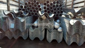 Highway safety barrier guardrail export to Cambodia