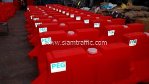 Plastic road barrier and safety cones Phrae Enginerring
