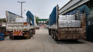 Reflective thermoplastic paint export to Myawaddy Republic of the Union of Myanmar