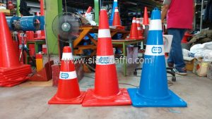 Road traffic cones and Water tank barrier TTK ASIA TRANSPORT