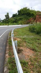 Steel guardrails Highway No.1081 Donmoon - Lak Lai Nan Province