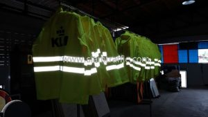 raincoats KLM (KLM Royal Dutch Airlines)