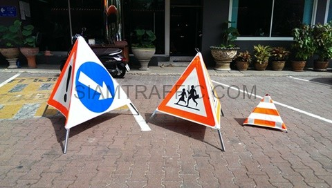 foldable signs barrier safety sign traffic sign guardrail road