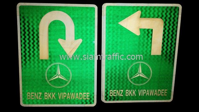 Benz BKK Vipawadee signs