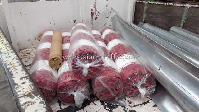 Guardrail and plastic fence and sticker Siam Cement Group (SCG)