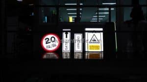 Thai Kajima traffic signs and safety signs