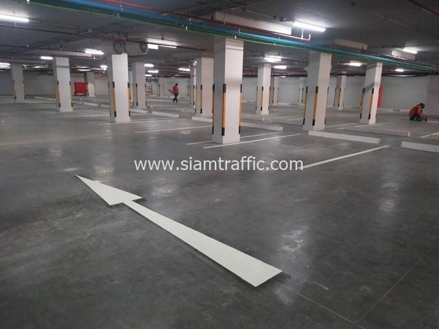 [:th]รับตีเส้นจราจร บริษัท เจริญโภคภัณฑ์ วิศวกรรม จำกัด จ.อยุธยา[:en]Parking areas road marking at Charoen Pokphand Engineering Phra Nakhon Si Ayutthaya[:]
