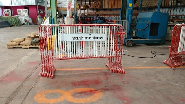 Pak Nam Chumphon Municipality traffic barrier