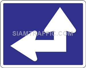 Directional arrow signs (Motorways)