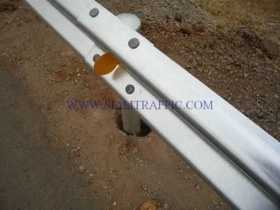 Installtion of guard rail at Cambodia