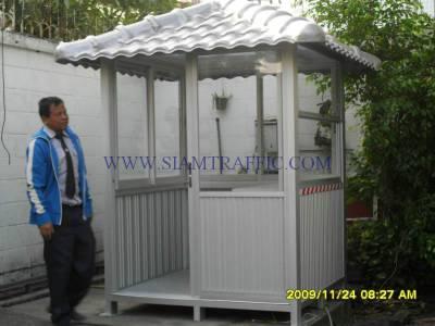 Guard house at Swiss Embassy, Wireless Road