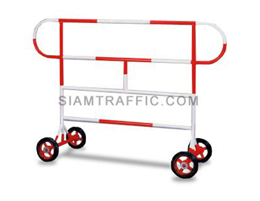 Barrier : Type A Barrier (With Wheels) 1.5 meter length x 110 cm. height x 50 cm. width
