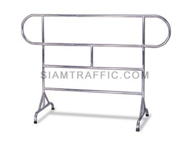 Barrier : Type A Barrier (Stainless Steel) 1, 1.5 and 2 meter length x 110 cm. height x 50 cm. width