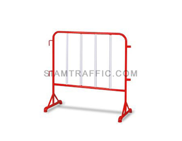 Steel Barrier : Type B Barrier (Without Wheels) 1 meter length x 100 cm. height x 50 cm. width