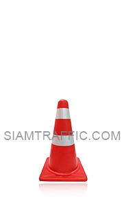 Traffic Cone 50 cm. attached with reflective Sticker.