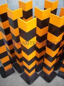 Barrier for column corner