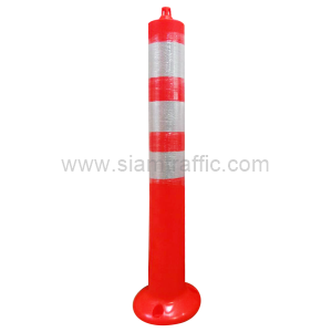 Traffic Pole, Plastic A grade, Height 80 cm.