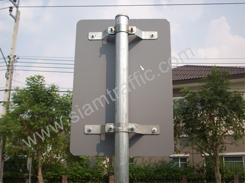 Sign post clamp
